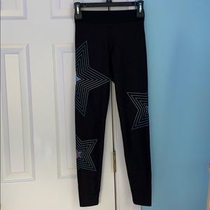 Ultracor/Soulcycle  Star leggings (barely used)